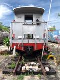 επικεφαλής τραίνο Στοκ εικόνα με δικαίωμα ελεύθερης χρήσης