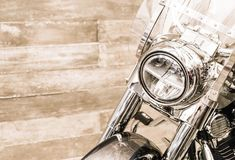 Επικεφαλής φως της μοτοσικλέτας Στοκ φωτογραφίες με δικαίωμα ελεύθερης χρήσης