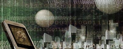 επικεφαλίδα Διαδίκτυο Στοκ εικόνα με δικαίωμα ελεύθερης χρήσης