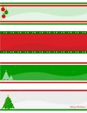 Επικεφαλίδα/έμβλημα Χριστουγέννων Στοκ Εικόνες