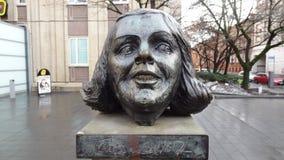 Επικεφαλής άγαλμα Στοκ Εικόνες