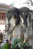 Επικεφαλής ελέφαντας τσιμέντου Στοκ φωτογραφίες με δικαίωμα ελεύθερης χρήσης