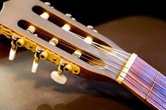 Επικεφαλής κλασική κιθάρα αποθεμάτων Στοκ φωτογραφίες με δικαίωμα ελεύθερης χρήσης