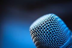 Επικεφαλής μακρο λεπτομέρεια μικροφώνων φωνής Στοκ εικόνες με δικαίωμα ελεύθερης χρήσης
