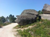 επικεφαλής πέτρα Στοκ Εικόνες