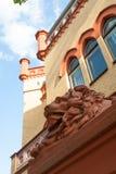 Επικεφαλής τοίχος λιονταριών Στοκ εικόνες με δικαίωμα ελεύθερης χρήσης