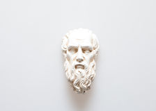 Επικεφαλής του γλυπτού Zeus Στοκ Φωτογραφία