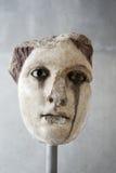 Επικεφαλής του θηλυκού αγάλματος (ίσως Aphrodite), κλασσική περίοδος Στοκ Φωτογραφίες