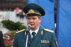Επικεφαλής του κύριου τμήματος του ρωσικού Υπουργείου επειγουσών καταστάσεων Στοκ εικόνες με δικαίωμα ελεύθερης χρήσης