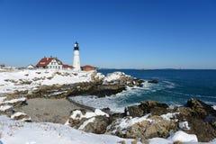 επικεφαλής φάρος Maine Πόρτλα στοκ φωτογραφίες με δικαίωμα ελεύθερης χρήσης