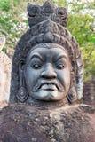 Επικεφαλής daemon Angkor Wat, Καμπότζη Στοκ Εικόνες