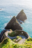 Επικεφαλής Dingle Slea χερσόνησος Ιρλανδία άνωθεν Στοκ Εικόνες