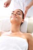 Επικεφαλής orgasmator Κεφάλι massager Στοκ Εικόνα