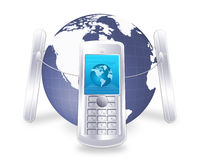 επικοινωνία κινητή Στοκ φωτογραφία με δικαίωμα ελεύθερης χρήσης