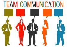 Επικοινωνία ομάδας Στοκ εικόνες με δικαίωμα ελεύθερης χρήσης