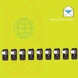 επικοινωνία Στοκ εικόνα με δικαίωμα ελεύθερης χρήσης