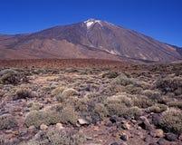 Επικολλήστε Teide, Tenerife. Στοκ Φωτογραφία