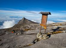 Επικολλήστε Kinabalu Στοκ Εικόνα