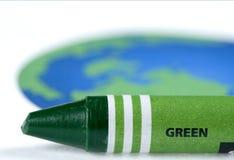 επιλέξτε πράσινο Στοκ Εικόνα