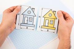 επιλέξτε το σπίτι ι στοκ φωτογραφία