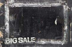 Επιλογές πώλησης grunge doodle στοκ φωτογραφία