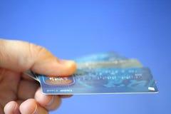 επιλογή καρτών Στοκ Εικόνες