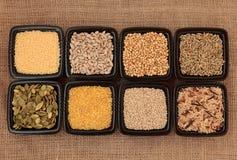 επιλογή σιταριού δημητριακών στοκ εικόνες