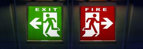 Επιλογή του τρόπου, της εξόδου ή της πυρκαγιάς Στοκ εικόνες με δικαίωμα ελεύθερης χρήσης