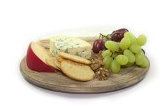 επιλογή τυριών Στοκ Εικόνα