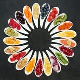 Επιλογή υγιεινής διατροφής στοκ εικόνα με δικαίωμα ελεύθερης χρήσης