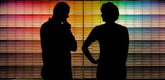 επιλογή χρωμάτων Στοκ φωτογραφία με δικαίωμα ελεύθερης χρήσης