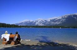 επιμεληθείτε τη λίμνη Στοκ Φωτογραφίες