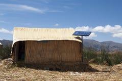 Επιπλέον νησί Uros, λίμνη Titicaca, περιοχή Puno, του Περού στοκ εικόνες με δικαίωμα ελεύθερης χρήσης