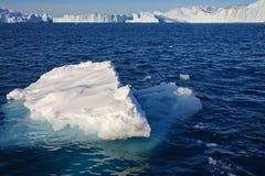 επιπλέον παγόβουνο μικρό Στοκ Εικόνα