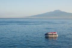 επιπλέων κόλπος Νάπολη στοκ φωτογραφία με δικαίωμα ελεύθερης χρήσης