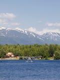 επιπλεύστε το αεροπλάνο λιμνών seymore Στοκ Εικόνα
