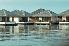 Επιπλέοντα σπίτια στη λίμνη Στοκ Φωτογραφίες