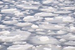 Επιπλέοντες πάγοι πάγου Στοκ εικόνα με δικαίωμα ελεύθερης χρήσης