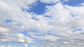 Επιπλέον σώμα σύννεφων σωρειτών Άποψη Timelapse απόθεμα βίντεο