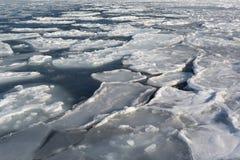 Επιπλέων πάγος πάγου στοκ εικόνα