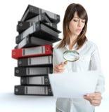 Επισήμανση εγγράφων στοκ εικόνες με δικαίωμα ελεύθερης χρήσης