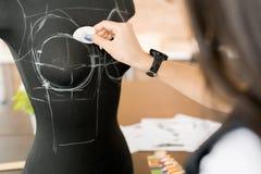 Επισημαίνοντας ράβοντας ομοίωμα ραφτών Στοκ εικόνα με δικαίωμα ελεύθερης χρήσης
