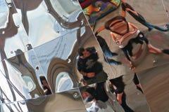 επισκέπτες αντανάκλασης Στοκ εικόνες με δικαίωμα ελεύθερης χρήσης