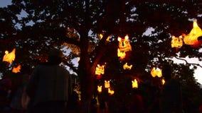 Επισκέπτες στο φεστιβάλ φαναριών του Ώκλαντ φιλμ μικρού μήκους