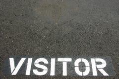 επισκέπτης χώρων στάθμευσ& Στοκ εικόνες με δικαίωμα ελεύθερης χρήσης