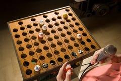 Επισκέπτης Bingo στην εργασία Στοκ εικόνα με δικαίωμα ελεύθερης χρήσης