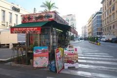 Επισκεμμένος κέντρο πληροφοριών τουριστών στη Ρώμη το πρωί στοκ εικόνες