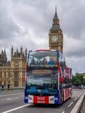 Επισκεμμένος λεωφορείο, Λονδίνο στοκ φωτογραφία με δικαίωμα ελεύθερης χρήσης