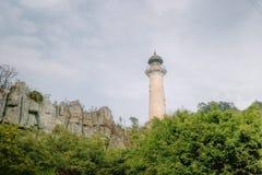 Επισκεμμένος πύργος Στοκ φωτογραφία με δικαίωμα ελεύθερης χρήσης