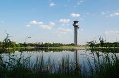 Επισκεμμένος πύργος Στοκ Φωτογραφία
